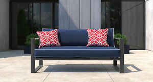 Tommy Hilfiger Monterey Patio Sofa With Cushion