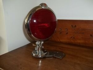 Vintage Unity 5 1 2 Red Glass Sealed Beam Tail Stop Brake Light For Car Truck