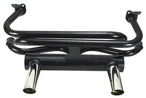 Empi 3417 Vw 2 Tip Gt Exhaust System For Air cooled Bug Ghia