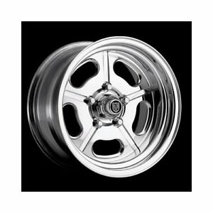 Center Line Wheels Competition Series Crs1 Polished Wheel 17x8 5x5 Bc 7297806550