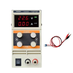 305d 30v 5a Precision Variable Adjustable Dc Power Supply Regulated Lab