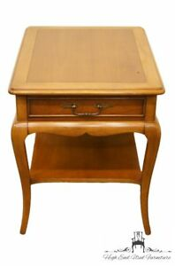 Hekman Furniture Country French 19x27 Banded End Side Table 1401l
