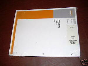 Case Skid Steer 445 445ct Parts Catalog Book