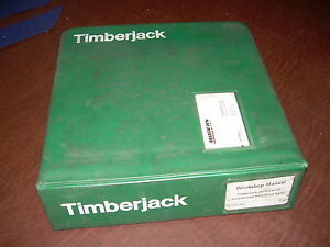 Timberjack Service Manual 2600 Carrier Loader Logger Shovel Workshop