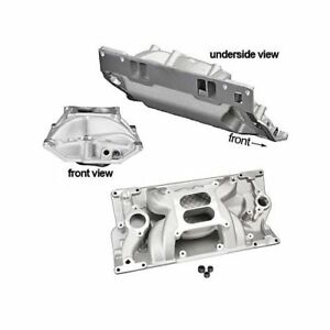 Summit Racing Stage 3 Intake Manifold Chevy Sbc 283 327 350 Fits Vortec Heads