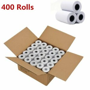 400 Rolls 2 1 4 X 50 Cash Register Credit Card Pos Receipt Thermal Paper Lot