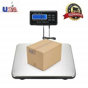 660lb 300kg Platform Bench Digital Scale For Shipping Postal Parcel Body Weight