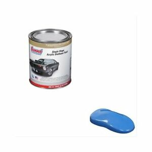 Summit Paint Single Stage Uv Stable Acrylic Urethane Gloss Pacific Blue 1 Qt Ea