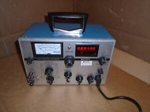 As Is Powers Up Rycom 6020 Selective Level Meter Levelmeter