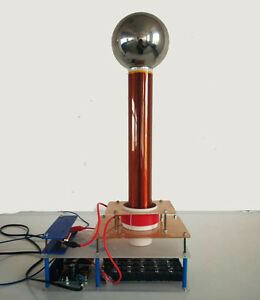 New Style 220v Electric Tesla Coil Spark Gap Tesla Coil 30w Personalized Gift