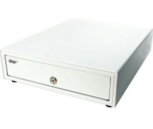 13 x17 Used White Cash Coin Register Drawer Star Micronics