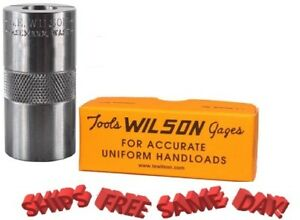 L.E. Wilson Case Length Headspace Gauge for 7.5x55 Swiss NEW! # CG-7555