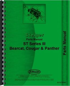 Steiger Bearcat Cougar Panther St Series Iii Tractor Parts Manual