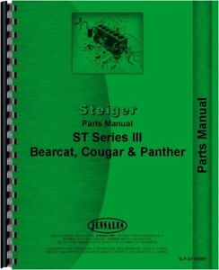 Steiger Bearcat Cougar Panther St Series Iii Tractor Parts Manual Catalog