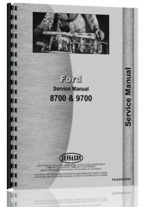 Ford 8700 9700 Tractor Service Manual