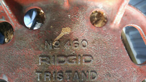 Ridgid 460 Tristand Pipe Vice 1 8 To 6
