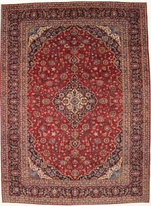 Large Traditional 10x14 Semi Antique Persian Rug Oriental Home D Cor Carpet