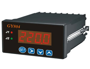 Ac Dc Programmable Digital Voltmeter Isolated Analog Transmitting Output Plc