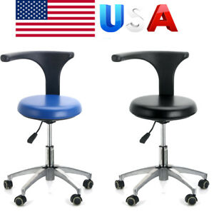 Pu Leather Medical Adjustable Chair Dental Doctor Assistant Stool Mobile Chair