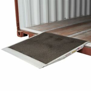 Pallet Jack Shipping Container Ramp 36 X 36 Aluminum 5000 Lb