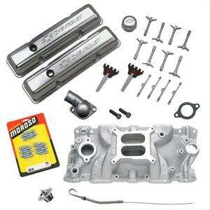 Sbc 327 350 Chevy 10067353 Gm Performance Crate Motor Power Upgrade Kit 03 0089
