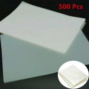 500 Sheets 5 Mil Clear Letter Size Thermal Laminating Pouches Film 9 X 11 5 Us