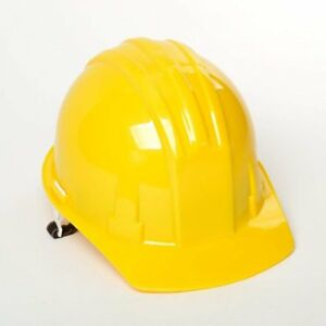 5 Abs Yellow Safety Hard Hats Adjustable Construction Industrial Bulk Ate Tools