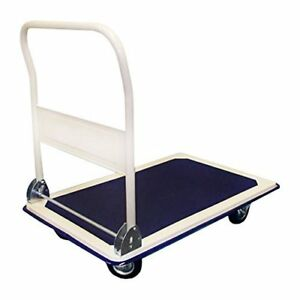 Folding Foldable Platform Hand Truck Utility Folding Truck Cart Dolly 660lbs Cap
