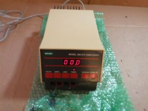 Bio Rad Model 200 2 0 Power Supply 5 200 Vdc 01 2 Amp 200 Watt Electrophoresis
