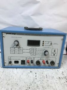 Multi amp 830250 Micro ohmmeter Test Set