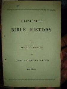 India Rare Illustrated Bible History By The Loreto Nuns Pages 110
