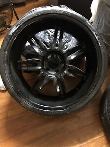 Wheels 24 Inch Custom Rims And Tires
