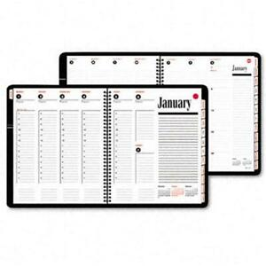 At a glance 7086405 800 Range Weekly monthly Appointment Book 8 1 2 X 11 Black