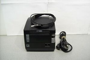 Citizen Ct s651 Usb Pos Printer W Usb Cable Tested Fast Excellent Condition