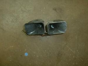 2006 Cadillac Dts Dual Electric Horn Assembly 18842 Morad Parts