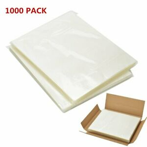 2000 Letter Size Thermal Laminator Laminating Pouches 9 X 11 5 Sheets 5mil