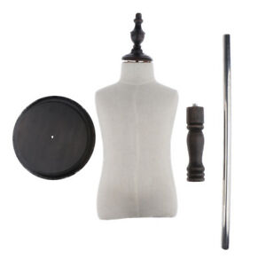 Small Body Dress Form Mannequin Torso Dressmaker Stand Display For Kid Cloth
