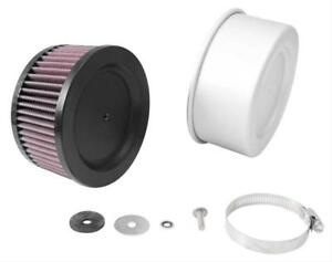 K n Rubber Mounting Flanged Covered Air Filter 5 Dia Round 54 1110