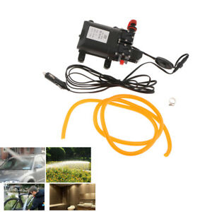 Electrical 12v Car Wash High Pressure Washer Double Water Pump 5 5l min