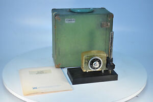 Vintage Aminco brenner Magne gage With Case Manual