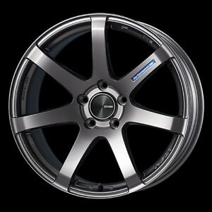 Enkei Pf07 18x8 5 Racing Wheel Wheels 5x114 3 Offset 35 45 Dark Silver
