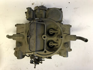 Holley Carburetor Previously Rebuilt By Holley Carb Ford Parts Take Off