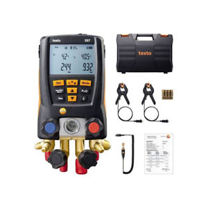 557 Refrigeration Digital Manifold System Kit Vacuum Gauge 0563 1557 Clamp Probe