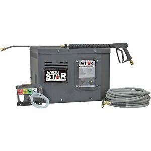 Northstar Electric Cold Water Stationary Pressure Washer 3000 Psi 2 5 Gpm 230v