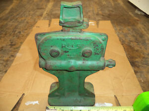 Vintage Rees No 0 Automotive Jack 1 Ton Capacity Flip Top Works