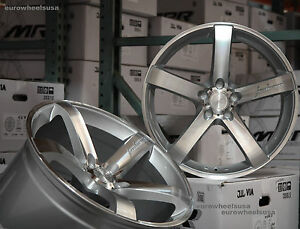 19 Mrr Vp5 Wheels For Lexus Is250 Is350 Staggered Rims Set 19x8 5 19x9 5 Inch