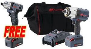 Ingersoll Rand New W7152 k12 20v 1 2 Cordless Impact Wr Kit Replaces W7150 k12