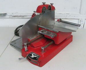 1930s American Meat Slicing Machine 115vac Cheese Slicer Vintage Commercial farm