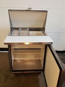 27 Mega Top True Tssu 27 12m Refrigerated Prep table Sandwich Salad Commercial