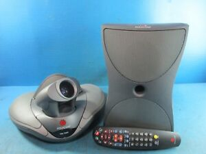 Polycom Vsx7000 Ntsc Video Conferencing System With Subwoofer And Remote Used